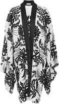 Naeem Khan Silk Kimono Jacket