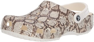 Crocs Women's Classic Animal Clog|Zebra and Leopard Shoes