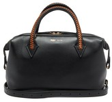 Métier Metier - Perriand City Small Leather Shoulder Bag - Womens - Black Multi