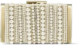 Jimmy Choo Embellished J Box Clutch Bag