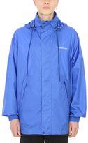 Balenciaga Blue Technical Fabric Windbreaker Jacket