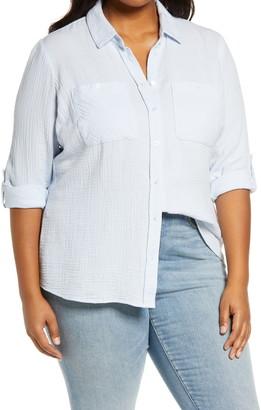 1 STATE Double Gauze Shirt
