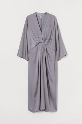 H&M Satin Kaftan Dress
