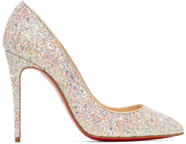 Multi Glitter Heels | Shop the world's