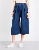 Miharayasuhiro Wide high-rise jeans