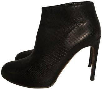Rupert Sanderson Black Leather Ankle boots
