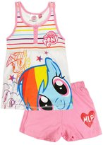 My Little Pony Girls Pajamas Kids Vest Shorts Pjs Nightwear Set