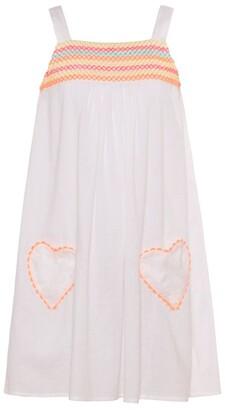 Sunuva Neon Smocked Dress (2-14 Years)