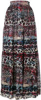 Just Cavalli printed full skirt