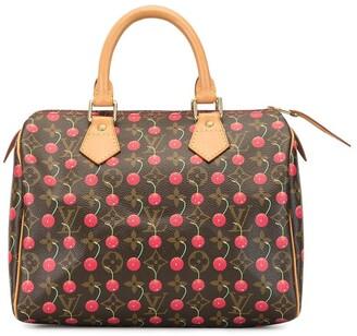 Louis Vuitton 2005 Speedy 25 cherry holdall