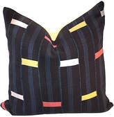 One Kings Lane Vintage Baule Stripe Pillow
