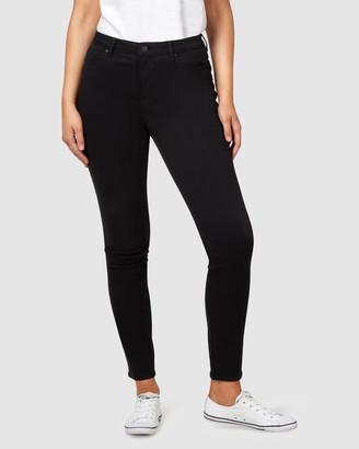 Jeanswest Curve Butt Lifter Skinny Jeans Black Night