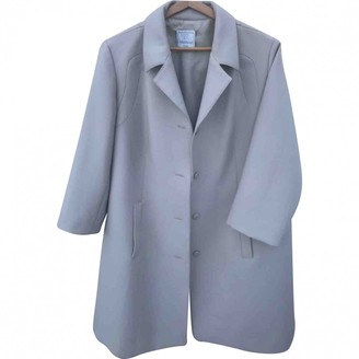 Non Signé / Unsigned Non Signe / Unsigned Grey Trench Coat for Women