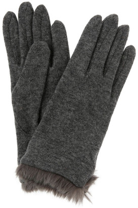 Basque Fur-Lined Gloves in