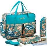 Donalworld Baby Collection Diaper Bag Set Nappy Organizer Shoulder Bag