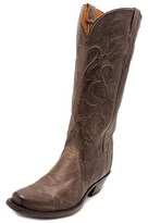Lucchese Patsy Women Round Toe Leather Gray Western Boot.