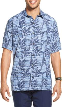 Van Heusen Classic-Fit Vine Printed Button-Down Shirt