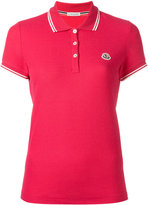 Moncler short sleeve polo shirt - women - Cotton - XS
