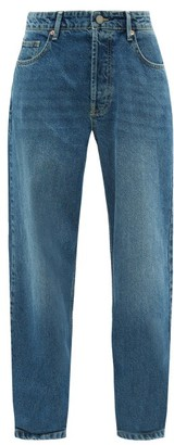 Raey Opa Baggy Boyfriend Jeans - Womens - Dark Blue