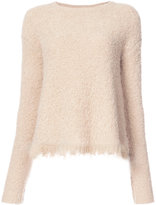 ATM Anthony Thomas Melillo distressed wool jumper - women - Alpaca - XS