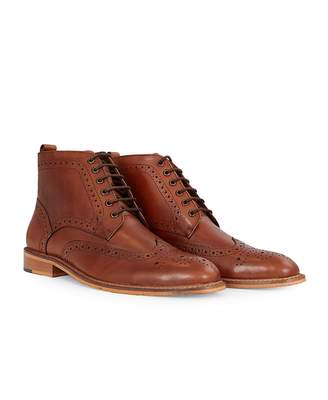 Holmes House Of Cavani Footwear Brogue Boots Colour: BROWN, Size: UK 7
