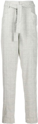 Etoile Isabel Marant Tapered Belted Trousers
