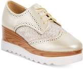 Wanted Gallaway Platform Oxfords Women's Shoes