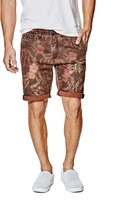 GUESS Men's Caribbean Classic-Fit Chino Shorts