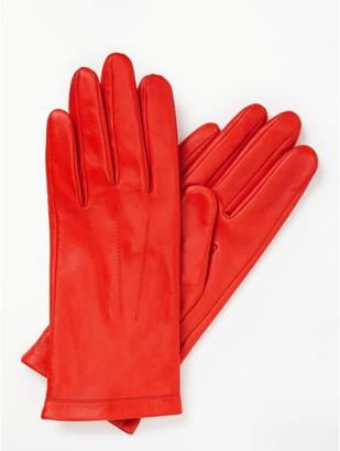 John Lewis & Partners Genuine Leather Gloves