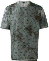 Lanvin plant pattern T-shirt