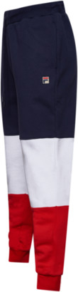 Fila France Pants - Navy Blue / Chinese Red / White - Fleece