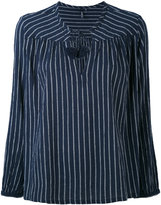 Woolrich striped blouse - women - Cotton - M