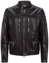Lanvin Zip-Up Leather Jacket