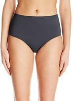 Anne Cole Women's Tummy Control High-Waist Power Mesh Bikini Bottom