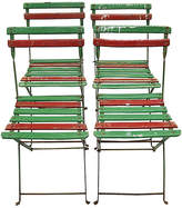 One Kings Lane Vintage Mid-Century French Bistro Chairs - Set of 4