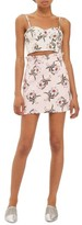 Topshop Women's Daisy Print Miniskirt