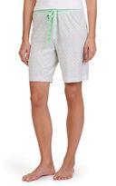 Nautica Geometric Print Knit Bermuda Shorts