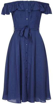 Yumi Bardot Shirt Dress
