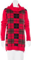 Kate Spade Plaid Turtleneck Sweater