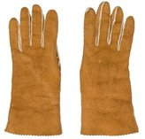 Chanel CC Shearling Gloves