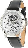 Sesame Street Womens Black Strap Watch-Wss000019