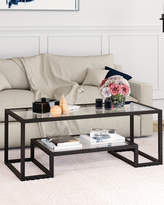 Athena Coffee Table In Blackened Bronze