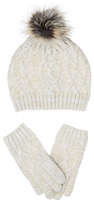 John Lewis Children's Hat and Glove Set