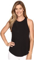 Lilla P Flame Voile Racerback Tank Top
