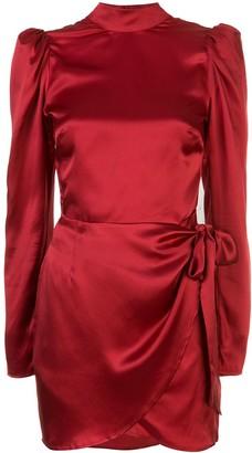 Reformation Josefine fitted mini-dress