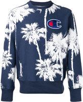 Champion palm tree logo sweatshirt