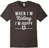 Horseback Riding T-shirt Horse Rider Gift Tee