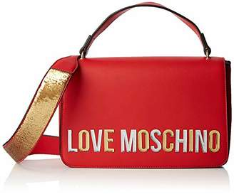 Love Moschino Borsa Pu, Women's Top-Handle Bag,7x18x29 cm (W x H L)