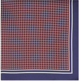Hugo Boss Polka Dot Pattern Silk Pocket Square