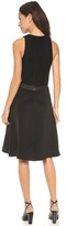 3.1 Phillip Lim Sleeveless Dress with Leather Belt